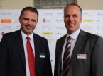 Christoph Kiessling, CEO de RHIAG (.gauche) et Roger Hunziker, responsable marketing.